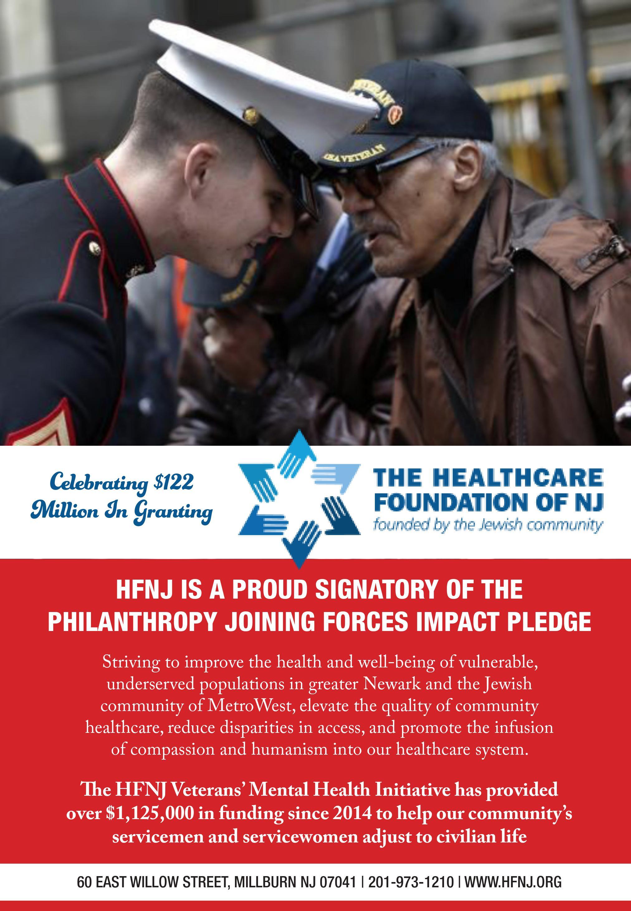 Hfnj Veteran S Mental Health Initiative Healthcare Foundation Of Nj